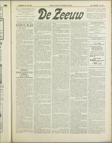 De Zeeuw. Christelijk-historisch nieuwsblad voor Zeeland 1934-07-26