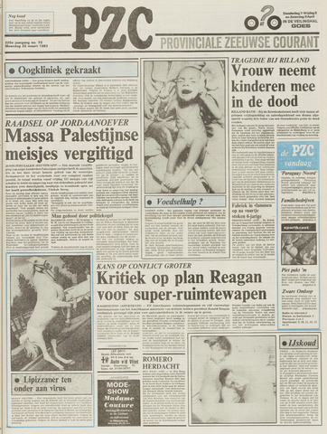 Provinciale Zeeuwse Courant 1983-03-28