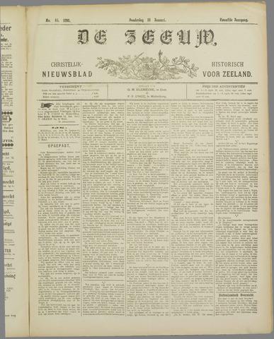 De Zeeuw. Christelijk-historisch nieuwsblad voor Zeeland 1898-01-13