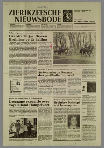 Zierikzeesche Nieuwsbode 1984-02-27