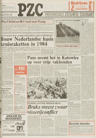 Provinciale Zeeuwse Courant 1983-06-21