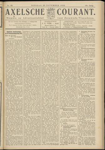 Axelsche Courant 1932-11-29