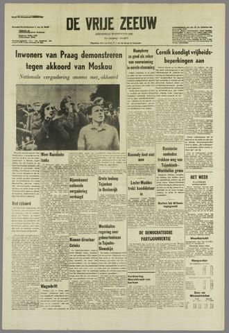 de Vrije Zeeuw 1968-08-29