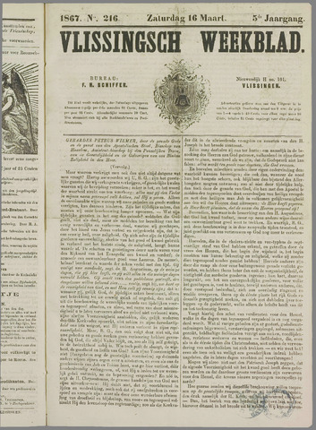 Vlissings Weekblad 1867-03-16
