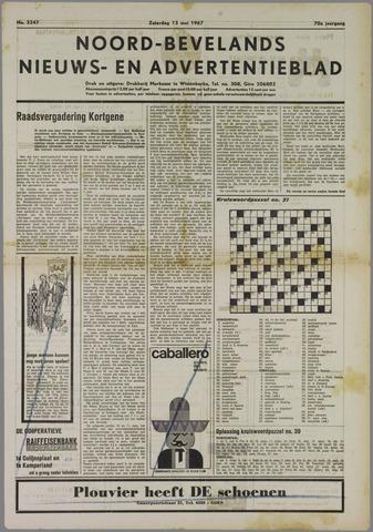 Noord-Bevelands Nieuws- en advertentieblad 1967-05-13