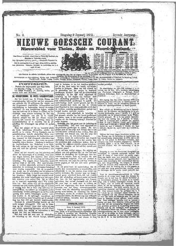 Nieuwe Goessche Courant 1872-01-09