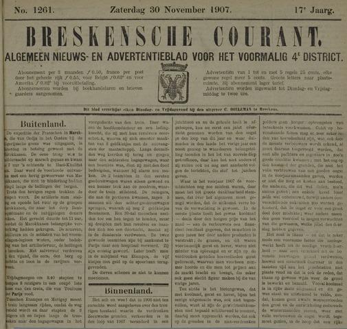 Breskensche Courant 1907-11-30