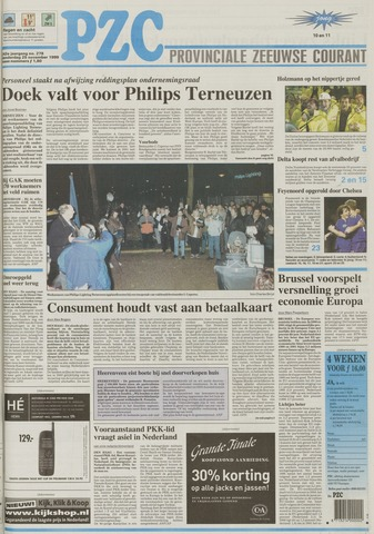 Provinciale Zeeuwse Courant 1999-11-25