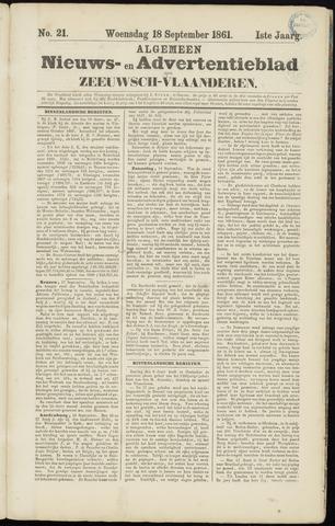Ter Neuzensche Courant. Algemeen Nieuws- en Advertentieblad voor Zeeuwsch-Vlaanderen / Neuzensche Courant ... (idem) / (Algemeen) nieuws en advertentieblad voor Zeeuwsch-Vlaanderen 1861-09-18