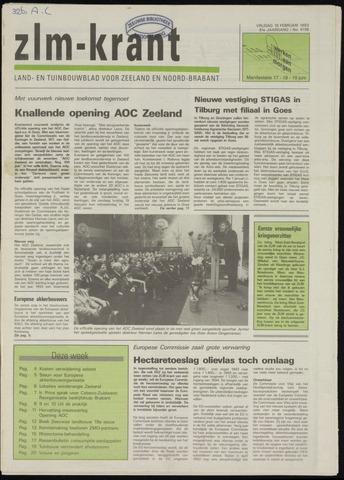 Zeeuwsch landbouwblad ... ZLM land- en tuinbouwblad 1993-02-19