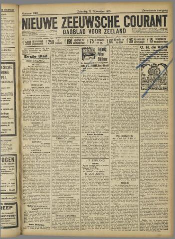 Nieuwe Zeeuwsche Courant 1921-11-12