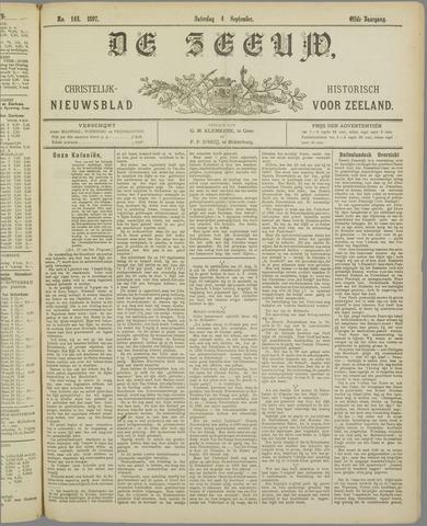 De Zeeuw. Christelijk-historisch nieuwsblad voor Zeeland 1897-09-04