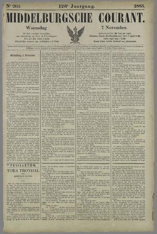 Middelburgsche Courant 1883-11-07