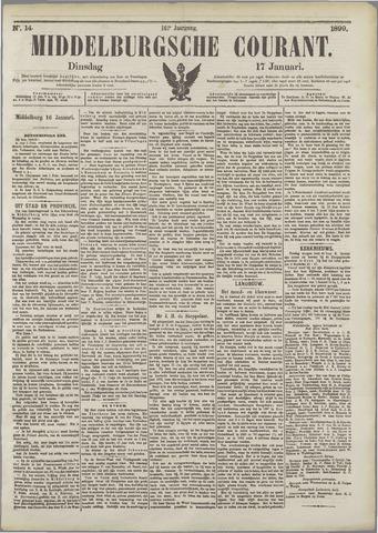 Middelburgsche Courant 1899-01-17
