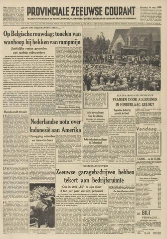 Provinciale Zeeuwse Courant 1956-08-14