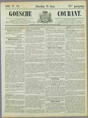 Goessche Courant 1891-06-16