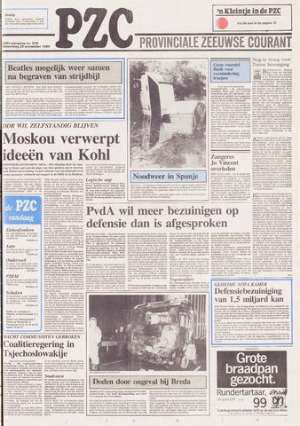 Provinciale Zeeuwse Courant 1989-11-29