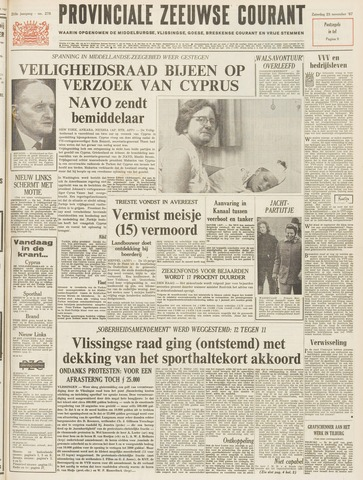 Provinciale Zeeuwse Courant 1967-11-25
