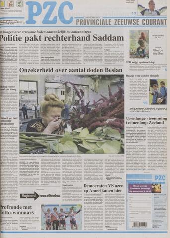 Provinciale Zeeuwse Courant 2004-09-06