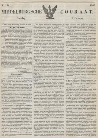 Middelburgsche Courant 1866-10-02