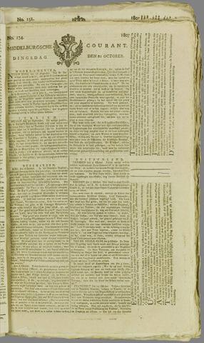 Middelburgsche Courant 1807-10-20