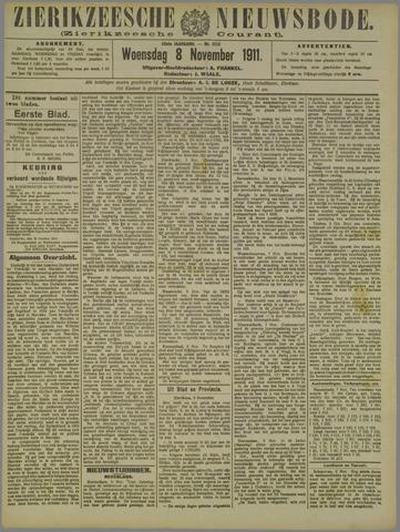 Zierikzeesche Nieuwsbode 1911-11-08