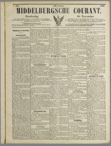 Middelburgsche Courant 1905-11-30