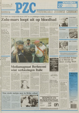 Provinciale Zeeuwse Courant 1994-03-29