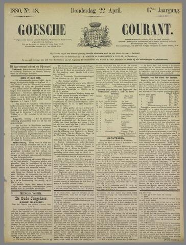 Goessche Courant 1880-04-22