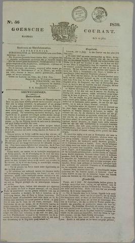 Goessche Courant 1839-07-15