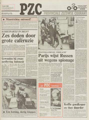Provinciale Zeeuwse Courant 1983-04-06