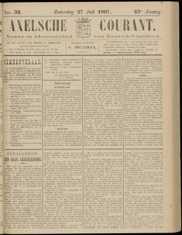 Axelsche Courant 1907-07-27