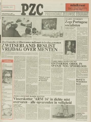 Provinciale Zeeuwse Courant 1976-12-14