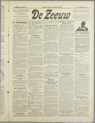 De Zeeuw. Christelijk-historisch nieuwsblad voor Zeeland 1937-04-21