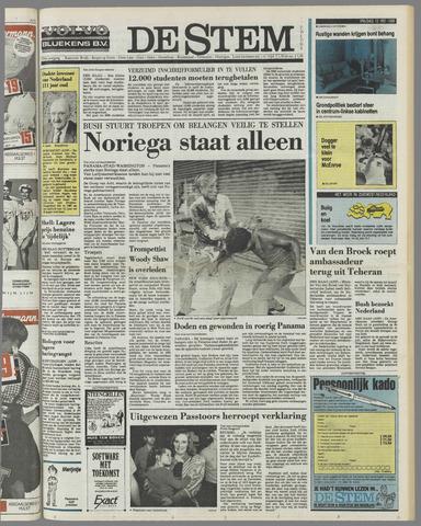 de Stem 1989-05-12