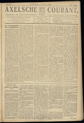 Axelsche Courant 1936-07-14