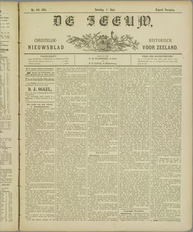 De Zeeuw. Christelijk-historisch nieuwsblad voor Zeeland 1895-06-01