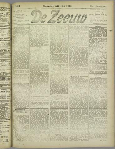 De Zeeuw. Christelijk-historisch nieuwsblad voor Zeeland 1921-05-30