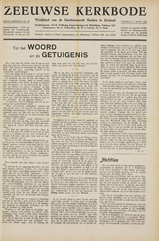 Zeeuwsche kerkbode, weekblad gewijd aan de belangen der gereformeerde kerken/ Zeeuwsch kerkblad 1951-06-08