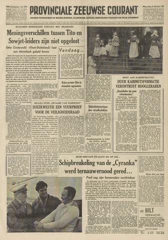 Provinciale Zeeuwse Courant 1956-10-08