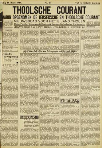 Ierseksche en Thoolsche Courant 1938-03-18