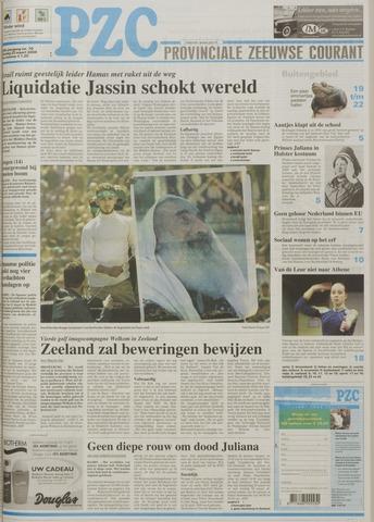 Provinciale Zeeuwse Courant 2004-03-23