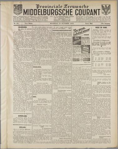 Middelburgsche Courant 1932-10-24