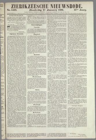 Zierikzeesche Nieuwsbode 1881-01-27