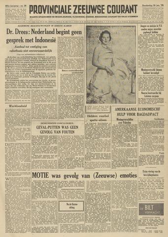 Provinciale Zeeuwse Courant 1958-01-30