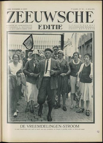 Ons Zeeland / Zeeuwsche editie 1931-07-31