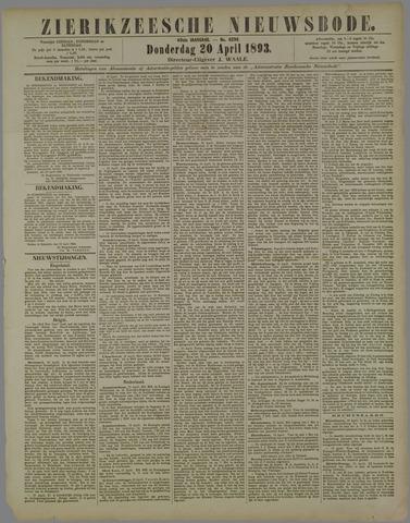Zierikzeesche Nieuwsbode 1893-04-20