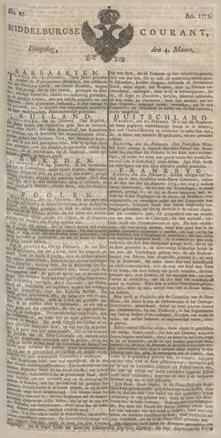 Middelburgsche Courant 1777-03-04