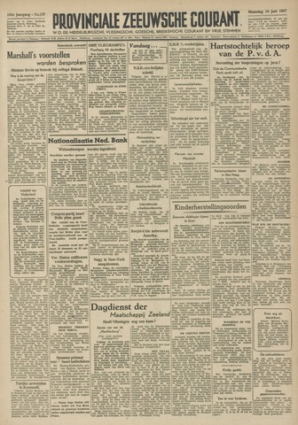 Provinciale Zeeuwse Courant 1947-06-16
