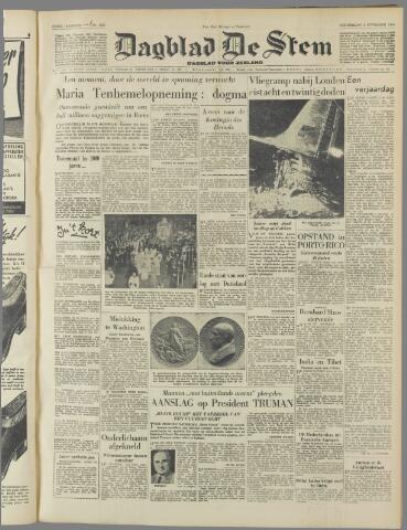 de Stem 1950-11-02